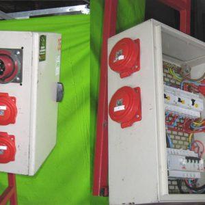 Armoire électrique 63Ampères / 4 x 32Ampères