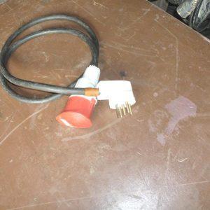 Adaptateur électrique 32Ampères mâle P17 femelle