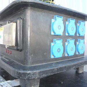 Armoire électrique 32Ampères / 12 PC16A
