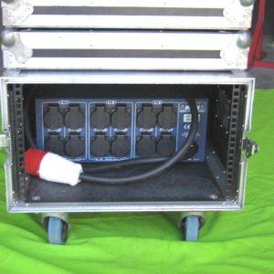 Armoire électrique 32ampères tri 12 PC 16A