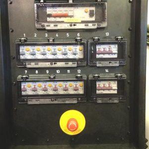Armoire électrique touring 63ampères
