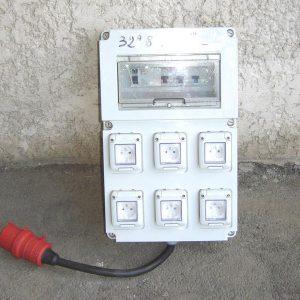 Armoire électrique 32Ampères / 6 PC 16A
