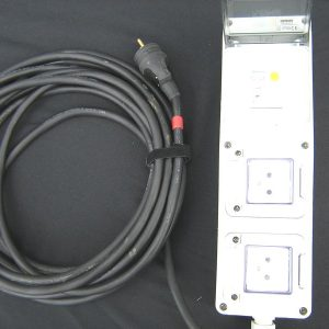 Boitier électrique 16Ampères / 220Volts salon