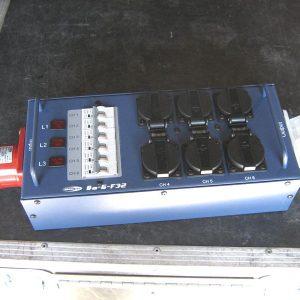 Armoire électrique 32ampères 6 PC 16A exposants