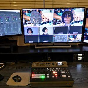 Régie vidéo Blackmagic Design Atem Television Studio Pro 4K