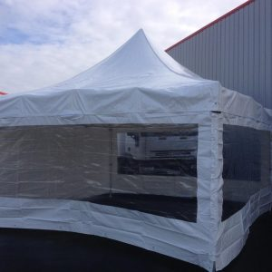 Tente blanche 5 x 5 pliable