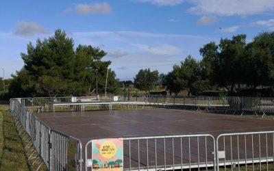 Parquet de danse / scène festival de l'été Aytré 2020